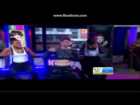 """Kiesza - """"Hideaway"""" - live on GMA"""