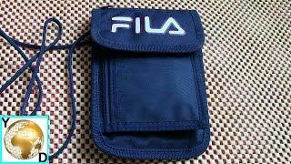 """Обзор сумки-кошелька от """"FILA"""""""