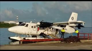 Seaplane ride (takeoff / landing) from St Croix to St Thomas, USVI