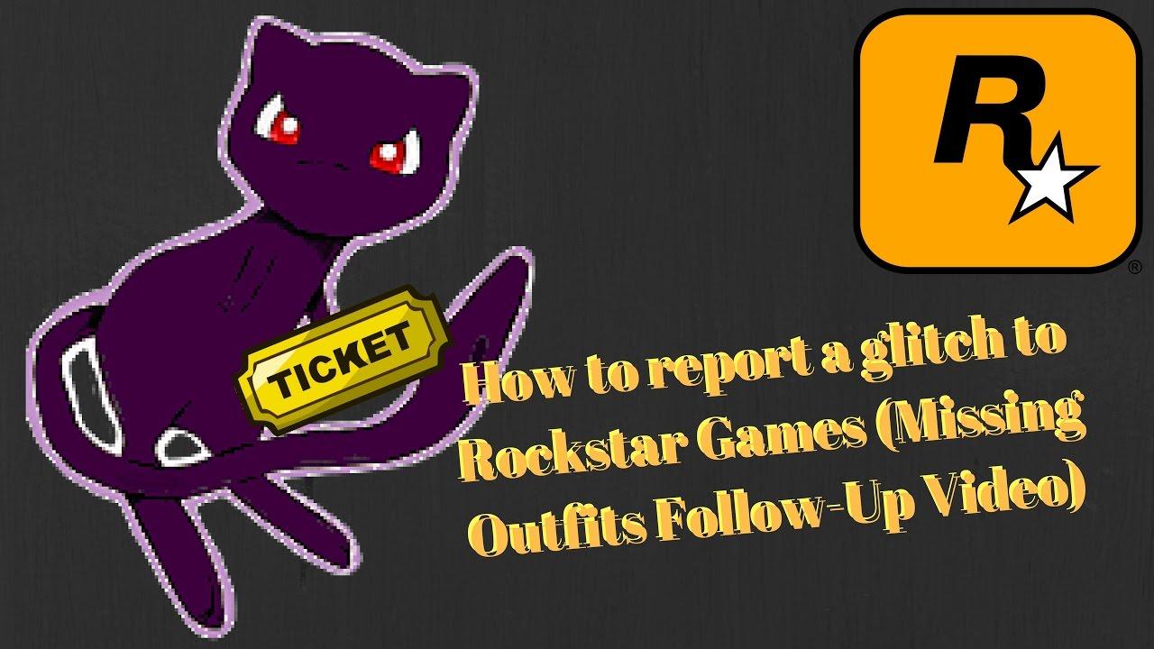 Rockstar Support Ticket