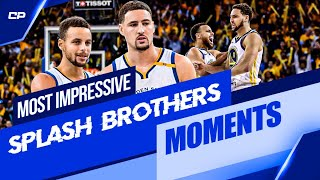 Most Impressive Steph Curry-Klay Thompson Splash Brothers Moments