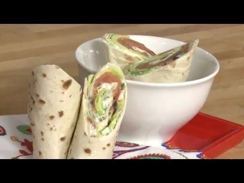 Technique de cuisine : préparer des wraps - YouTube