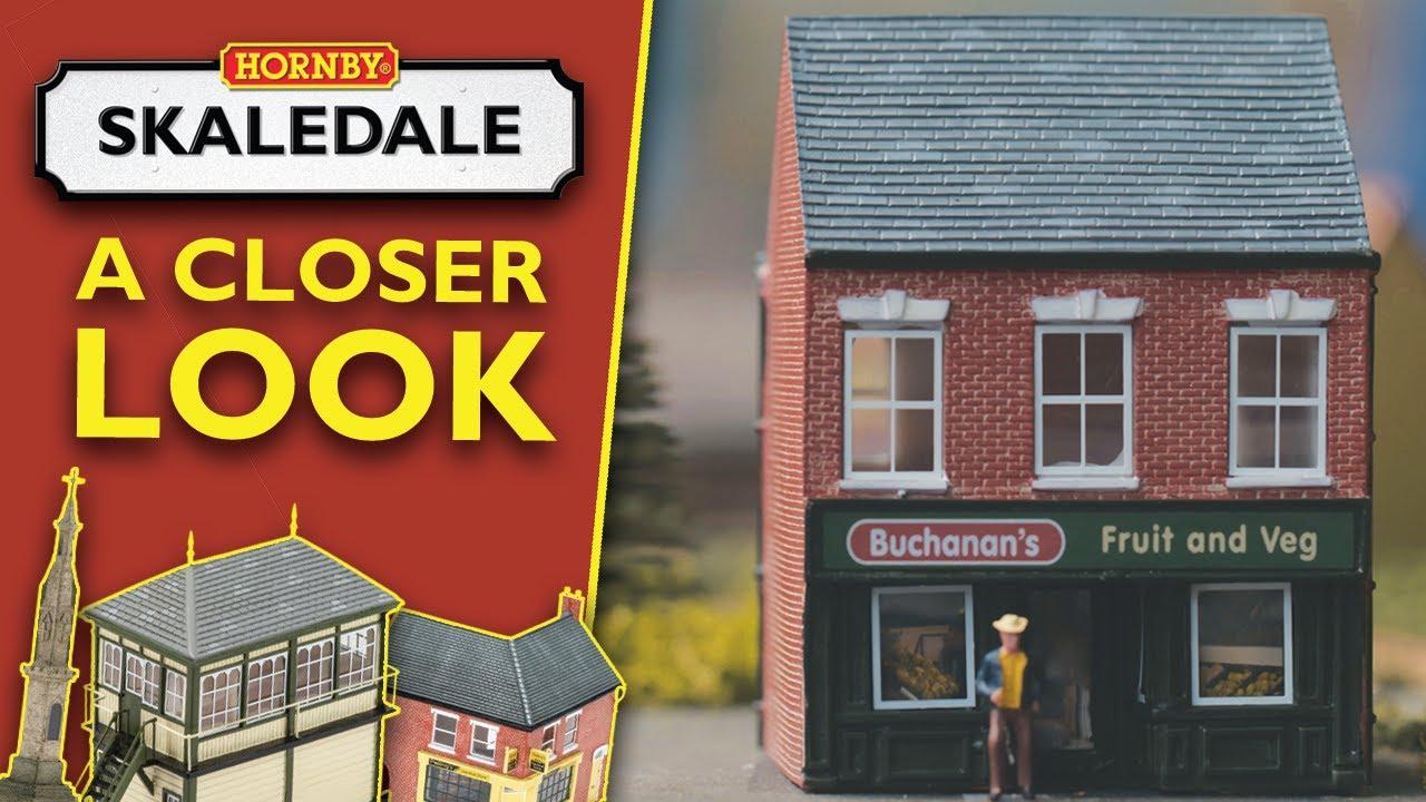 Hornby Skaledale Low Relief Highland Mills  Model