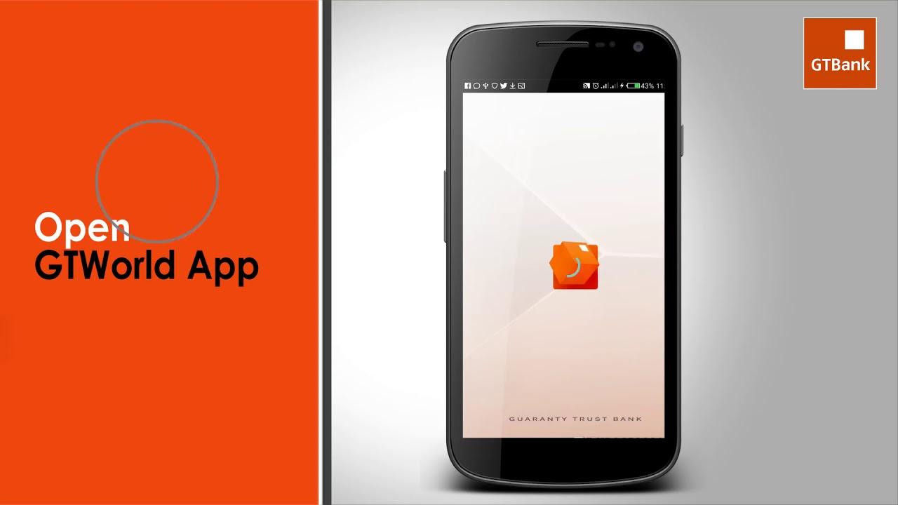 GTWorld App (GTBank Liberia Mobile App)