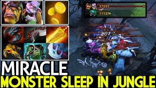 MIRACLE [Alchemist] Monster Sleep in Jungle 1300 GPM Cancer Farming 7.26 Dota 2