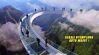 Download Yakin Berani Nyebrang ?! Jembatan Paling Berbahaya & Terekstrem Yang Ada Di dunia
