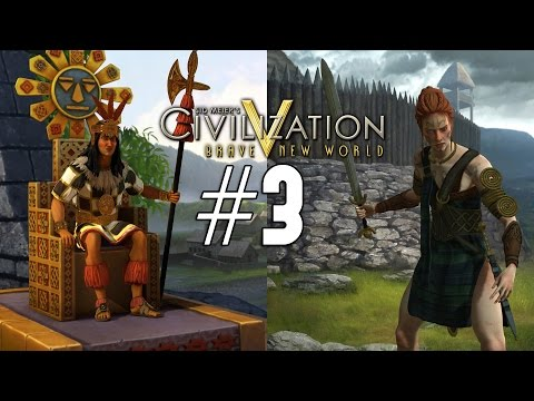 Civilization 5: Emperor Co-op [Celt / Inca] - 3