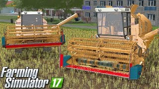 Żniwa na dwa Bizony - Farming Simulator 17 (Górale V5) | #36