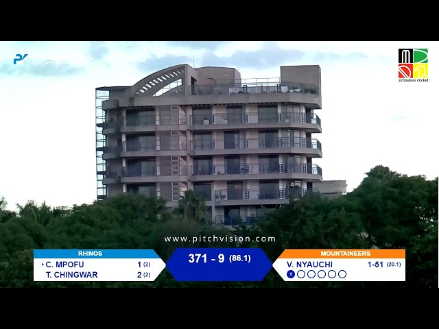 Zimbabwe Logan Cup Four Day Match | Mountaineers vs Rhinos