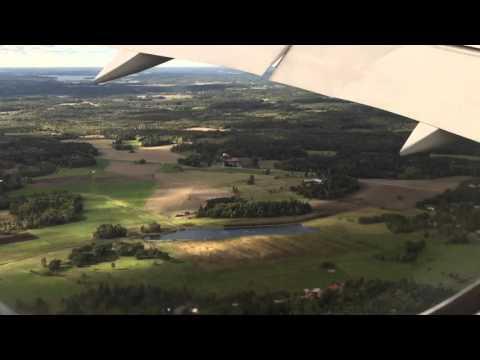 Flying Over Outer Stockholm, Sweden