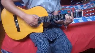 Charijayac yo aqui sin ti cover guitarra