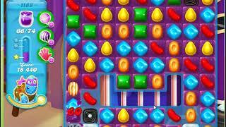 Candy Crush Soda Saga Level 1188 No Boosters