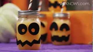 Fizzy Pumpkin Party Drinks