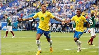 Neymar  ►  World Cup  2018 Goals & Skills