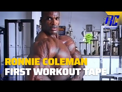 Ronnie Coleman First Workout Tape Remastered In 1080 HD