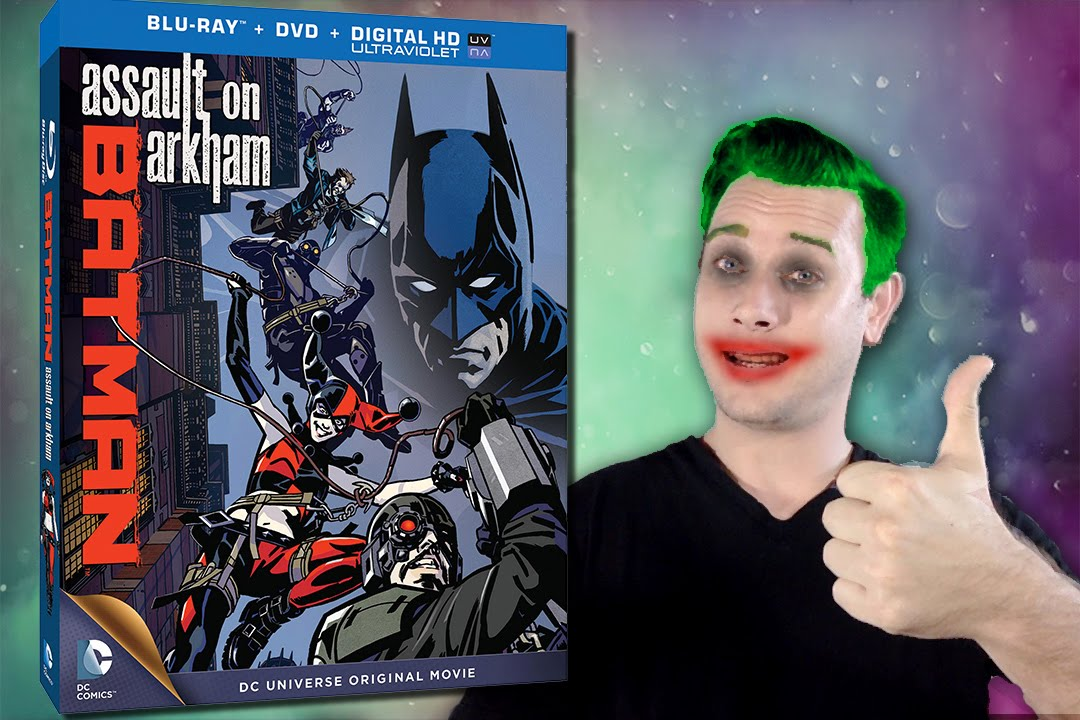 batman assault on arkham dvd