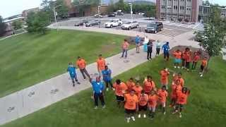 Quadcopters with Camp Kingdom of Queens at Binghamton University