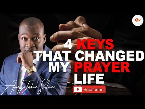 4  KEYS THAT CHANGED MY PRAYER LIFE | APOSTLE JOSHUA SELMAN