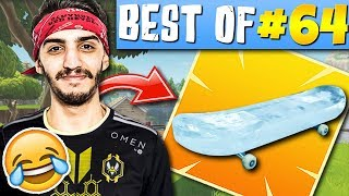 SKYRROZ TURN AU POMPE 😱ADZ ROI DE LA GLISSE 🎿► BEST OF FORTNITE FRANCE #64