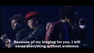 Big Bang - A Good Man [Eng. Sub]