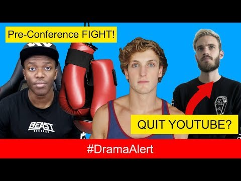 Logan Paul CONFRONTS KSI at CLUB! #DramaAlert PewDiePie QUITS YOUTUBE!? 6ix9ine VS Chief Keef BEEF!
