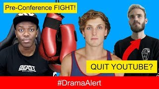Logan Paul CONFRONTS KSI at CLUB! #DramaAlert PewDiePie QUITS YOUTUBE!? 6ix9ine VS Chief Keef BEEF!