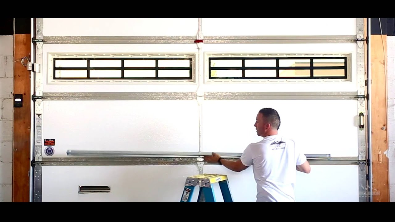Garage Door Brace garage door struts - steel struts - garages - youtube