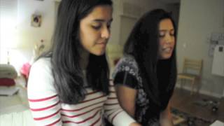 Repeat youtube video Talk By Coldplay / Nee Partha Paarvai - Sushmitha Suresh and Shwetha Suresh
