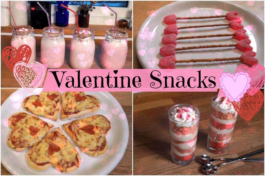 DIY Quick, Easy and Tasty Valentine\'s Day Snacks - YouTube