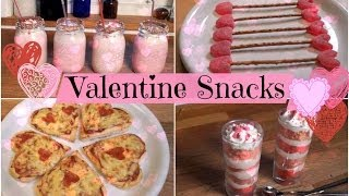 DIY Quick, Easy and Tasty Valentine's Day Snacks Thumbnail
