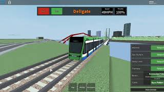 mind the gap:classic roblox Trams