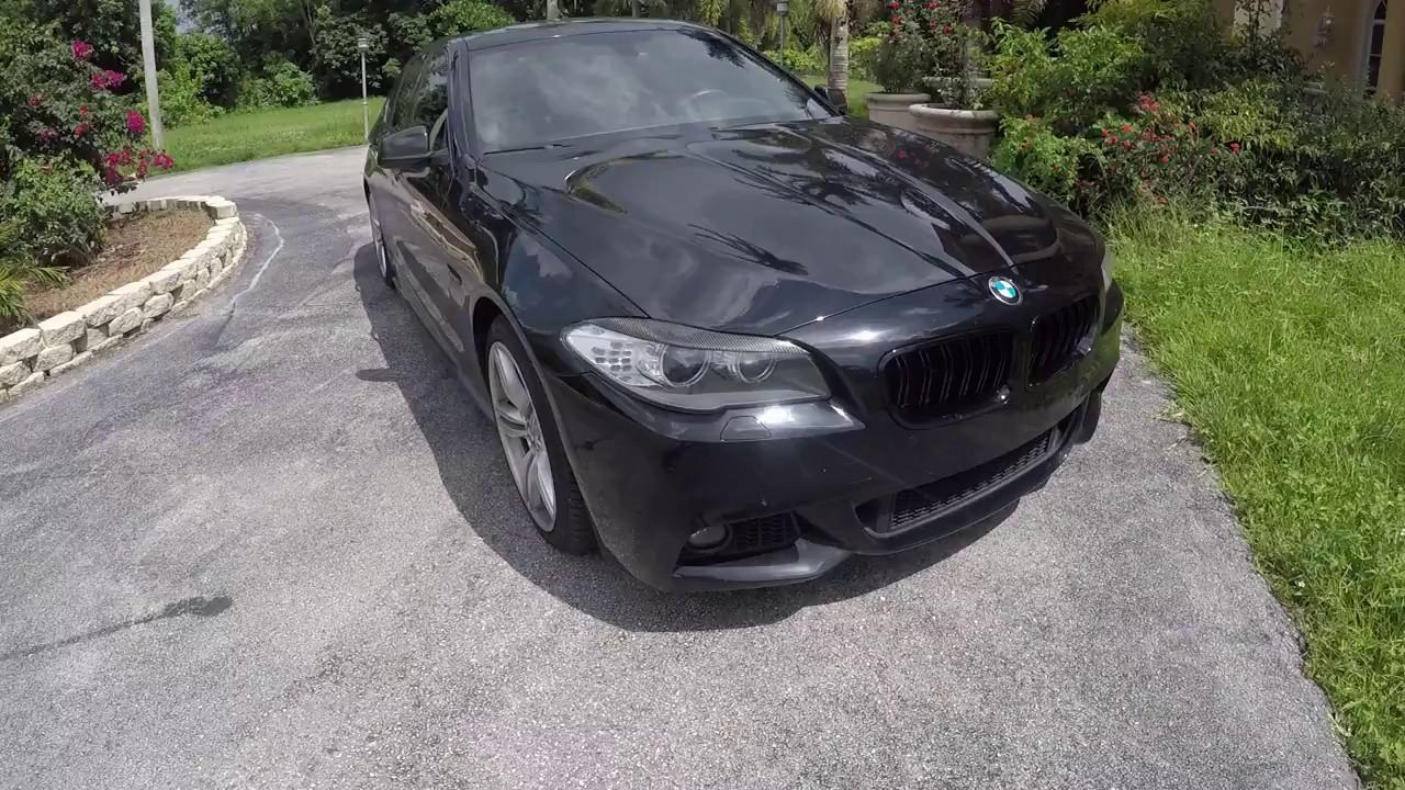 BMW 535i F10 Walk-around & exhuast sound with Bootmod3 / bm3 Burble Mode