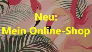 Giessharz / Resin popout 6.8.17 (deutsch) und mein neuer Online-Shop