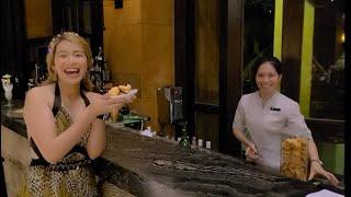 AROMA LOBBY LOUNGE PULLMAN HOTEL RESORT SANYA BAY SANYA HAINAN PROVINCE CHINA