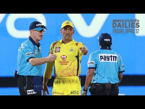 Dhoni fined in CSK's last-ball win | Daily Cricket News