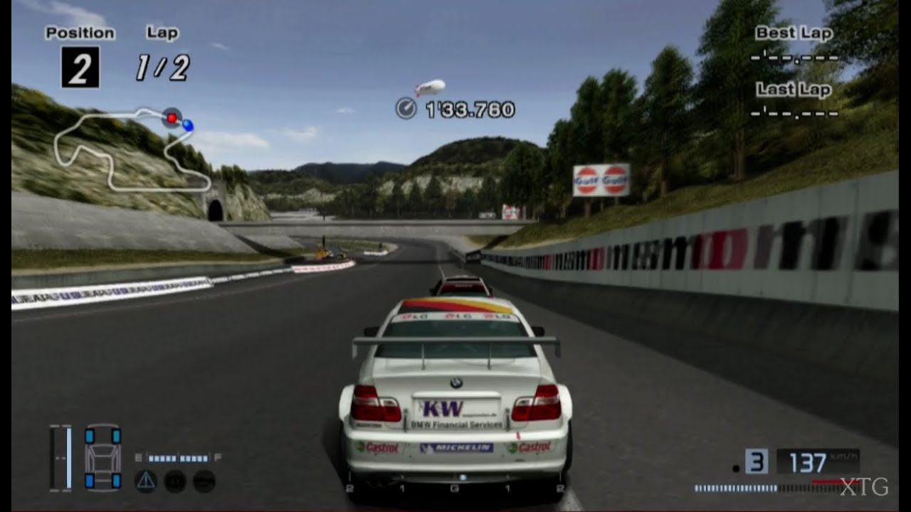 Gran Turismo Release Date >> Gran Turismo 4 - BMW 320i Touring Car HD PS2 Gameplay ...