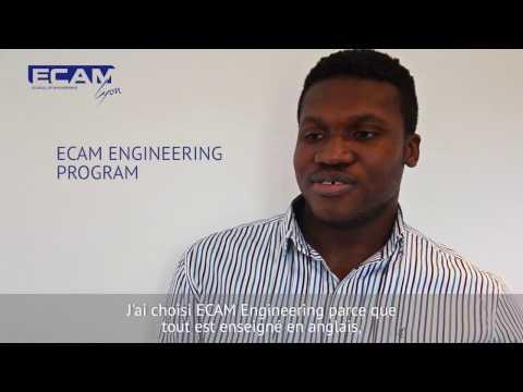 ECAM Engineering program : interview of student
