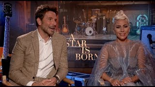 A STAR IS BORN interviews - Lady Gaga, Bradley Cooper, Sam Elliot Video