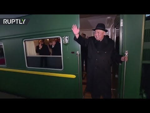 Kim Jong-un departs Pyongyang for 4th meeting with Xi