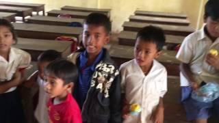 カンボジアの学校訪問&プレアヴィヒア☆// School tour and Prasat Preah Vihear in Cambodia!![#007]