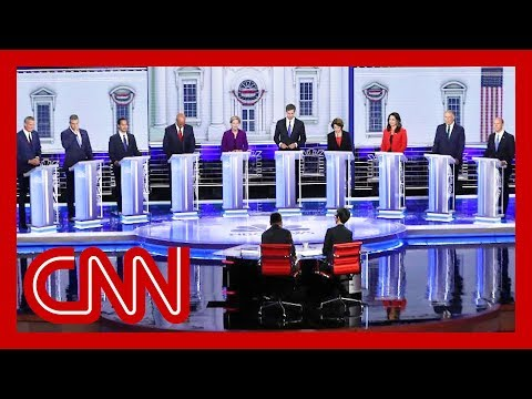 CNN commentators recap first 2020 Democratic presidential debate