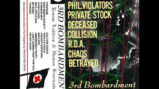 3rd Bombardment Rescue Ladders Human Barricade 1986 Full Album Twisted Red Cross Pinoy Punk Rock