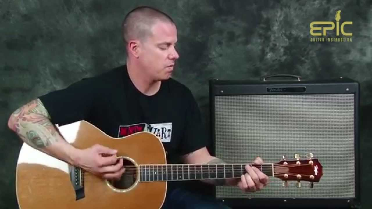 Learn Acoustic Country Guitar Brantley Gilbert Bottoms Up Song