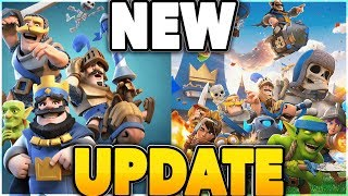 Clash Royale's BIGGEST UPDATE EVER IS HERE!