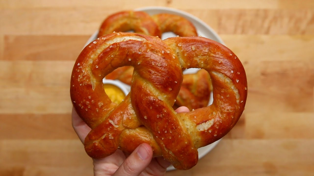 Homemade Soft Pretzels - YouTube