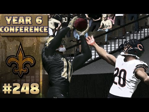 NFC Championship: Saints vs Bears (S6) | Madden NFL 17 New Orleans Saints Franchise Ep. 248