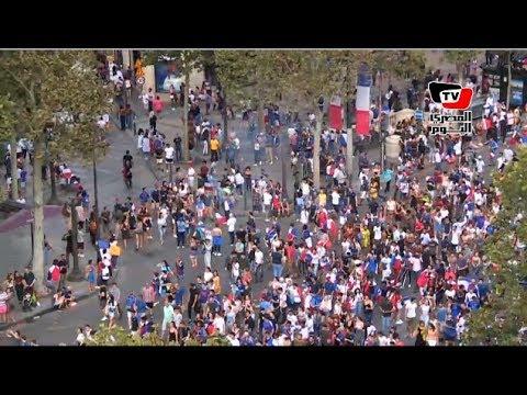 الديوك الفرنسية تغزو شوارع باريس بعد حصولهم على كأس العالم  - نشر قبل 6 ساعة