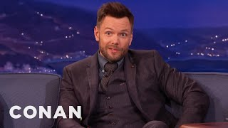 "Joel McHale On The ""Community"" Movie  - CONAN on TBS"