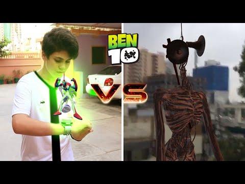 Ben 10 Vs Siren Head 2 | Horror Short Film