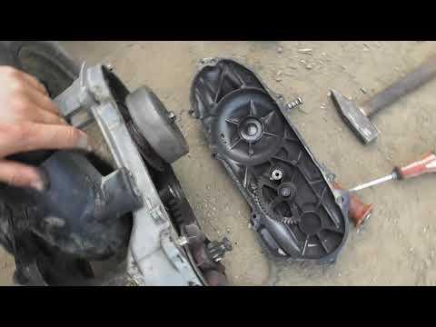 Ремонт скутера Suzuki Sepia ( часть 1 )